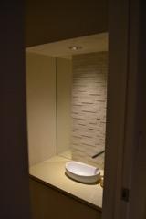 トイレのあかりは、実はここだけ。
