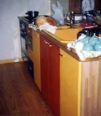 シュタイナーの理念の手づくりキッチン