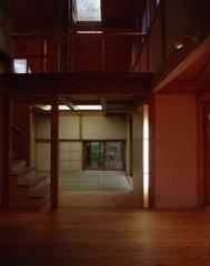 美しい和室がしつらえられた、山中湖の別荘。