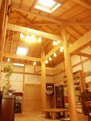 天然木・しっくい・月桃紙による自然素材の家