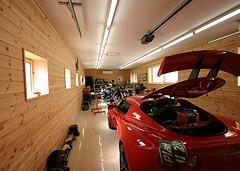男の趣味の部屋「かっこいいガレージ」