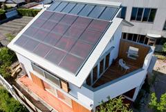 OMソーラー+太陽光発電で、太陽のエネルギーを最大限活かします。
