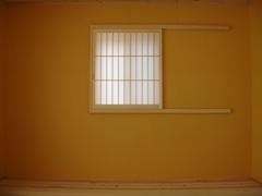 和紙で仕上げた和室の壁