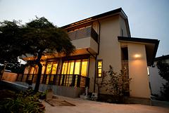 2010年春竣工の二世帯住宅