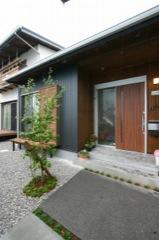 「新・デザイン 現代和風の住まい」 玄関
